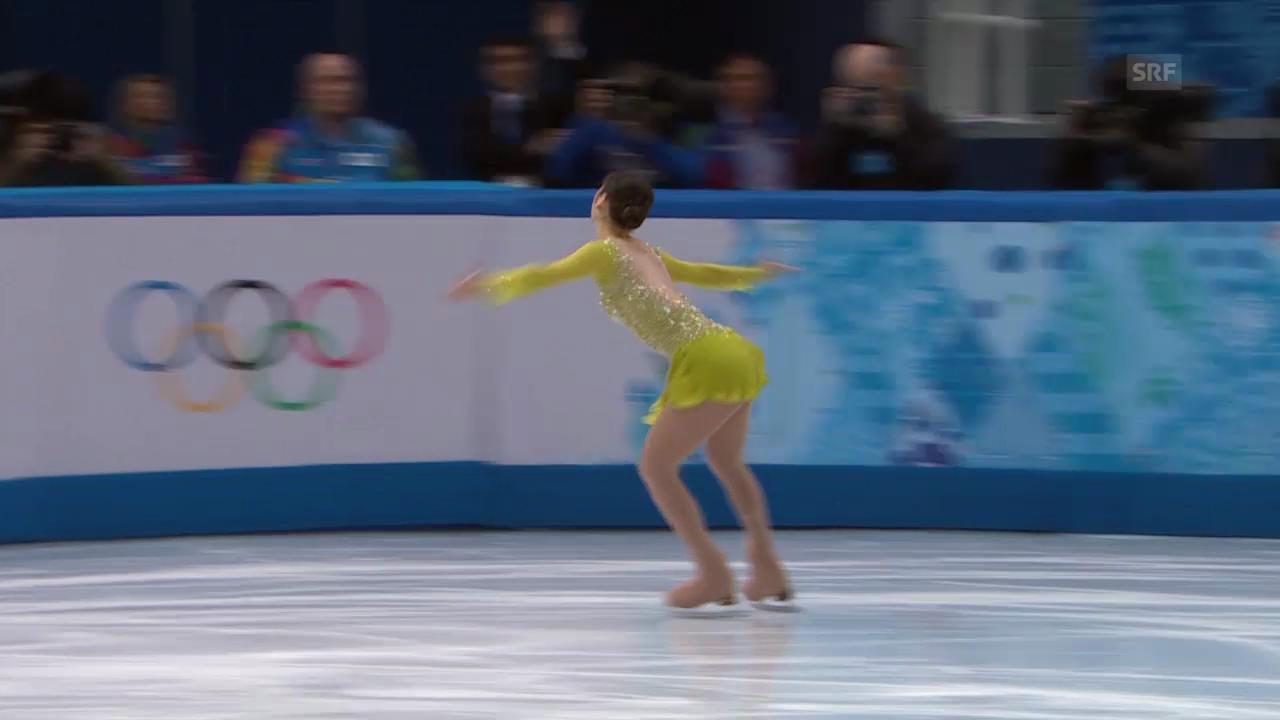Eiskunstlauf: Das Kurzprogramm von Yu-Na Kim (sotschi direkt, 19.02.2014)