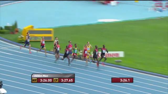 LA-WM: 1500 m der Männer