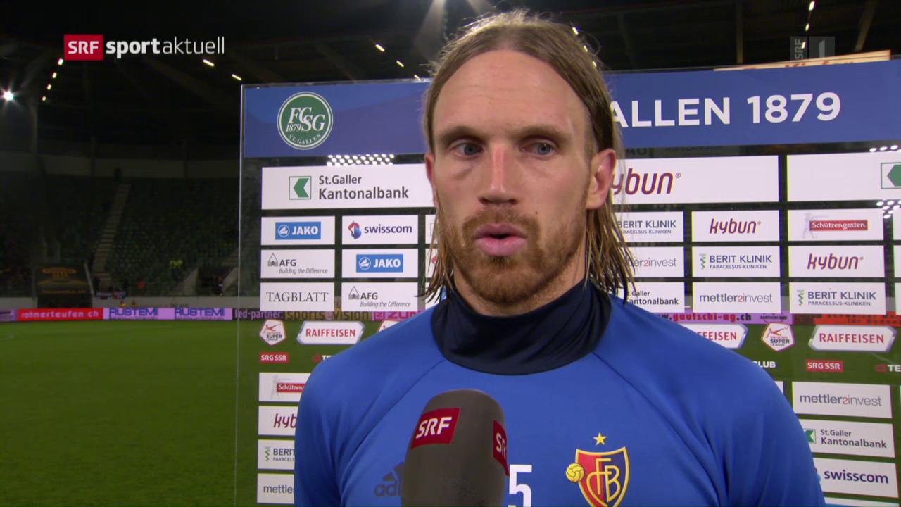 Fussball: Super League, St. Gallen - Basel