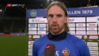 Video «Fussball: Super League, St. Gallen - Basel» abspielen