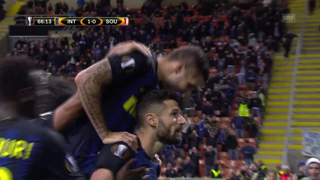Inter siegt knapp