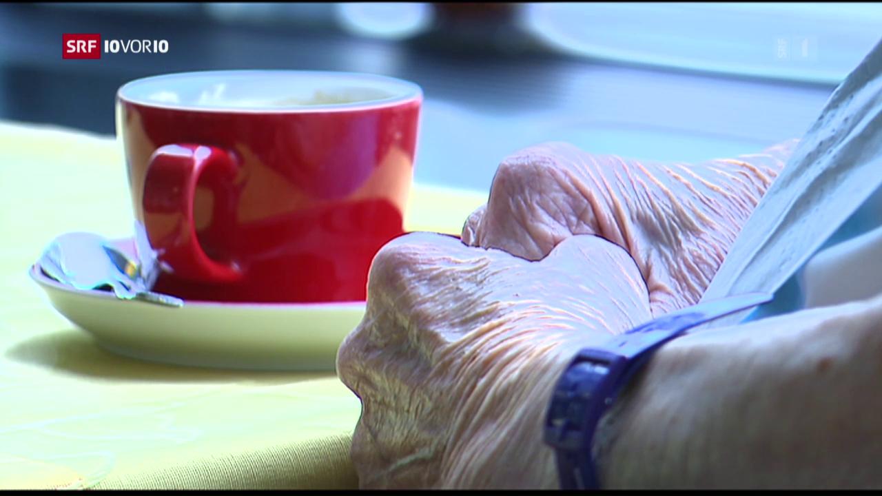 Gewalt gegen Senioren
