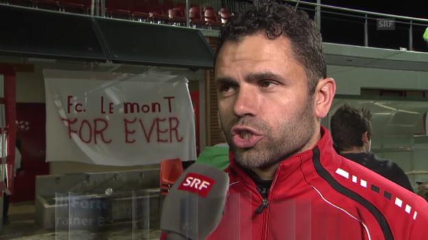 Video «Reaktionen nach Le Mont-YB» abspielen