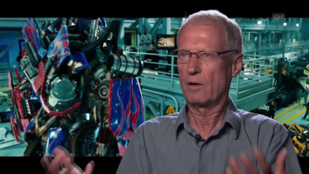 Video «Robotik-Professor Rolf Pfeifer über «Transformers»» abspielen