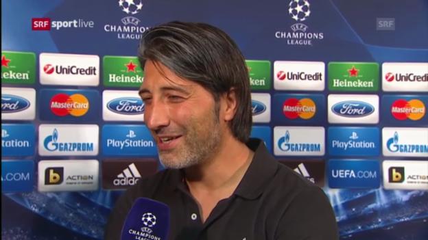 Video «Interview mit Murat Yakin («sportlive»)» abspielen