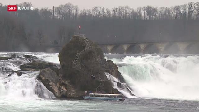 Rheinfall anzapfen