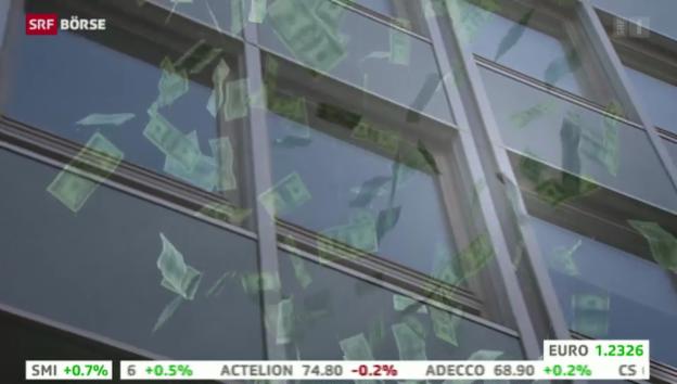 Video «SRF Börse vom 25.11.2013» abspielen