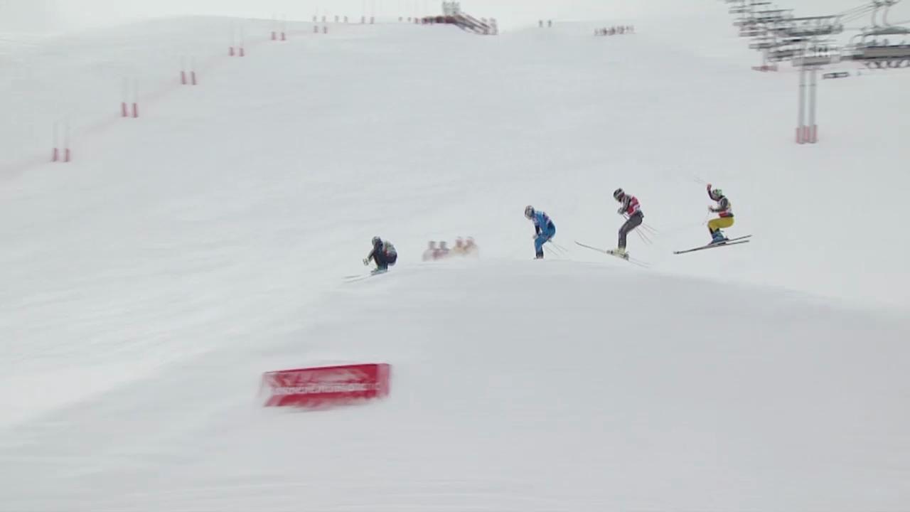 Skicross: Weltcup in La Plagne, Final Männer