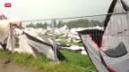 Video «Sturm tobt über Turnfest» abspielen