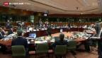 Video «Europas Führungsriege bespricht Vorgehen in der Ukraine» abspielen