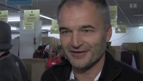 Video «Gisin, Chapuisat & Stucki: Zweimal schenken ist doppelt schön» abspielen