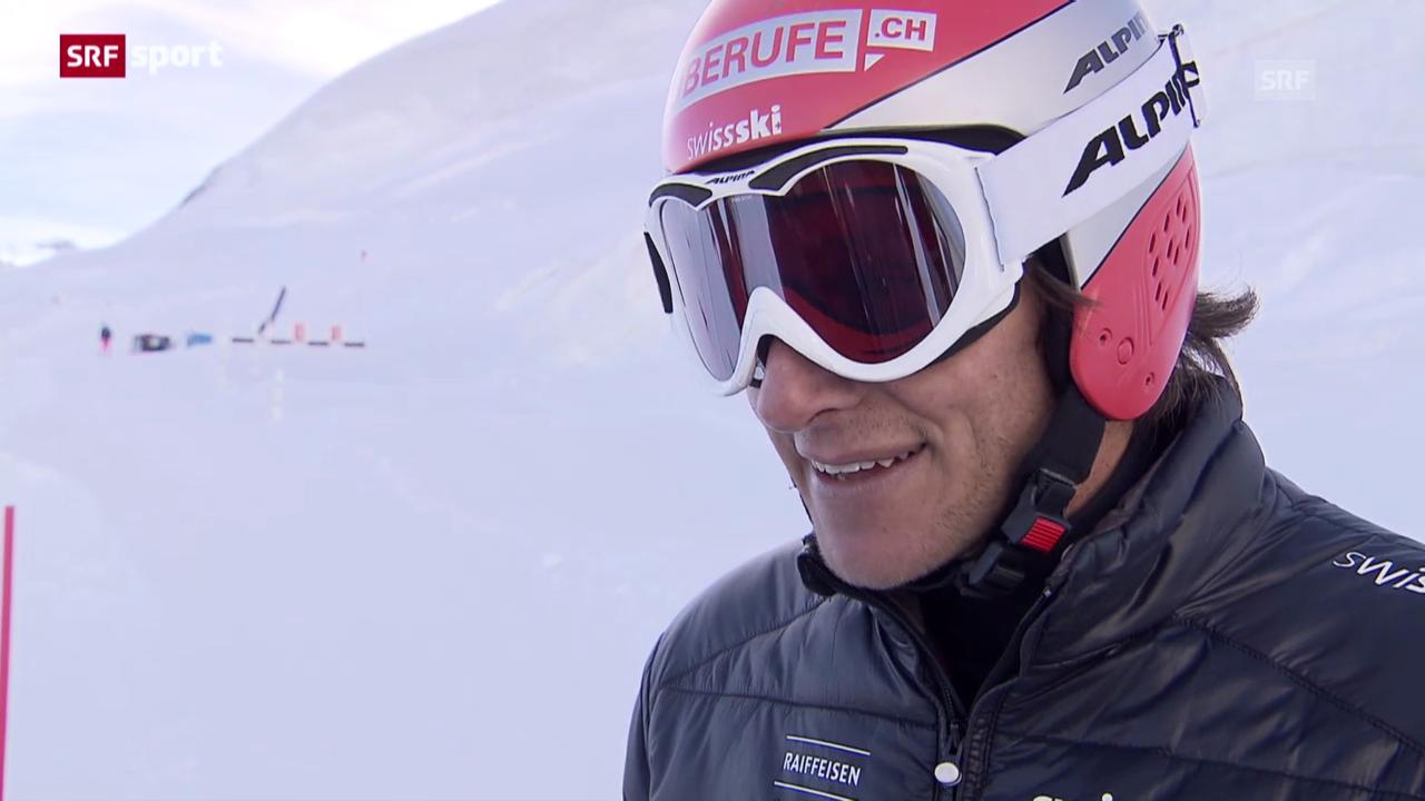 Mike Schmid vor der Skicross-Saison