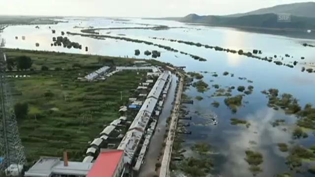 Schweren Unwettern in China (unkomm.)
