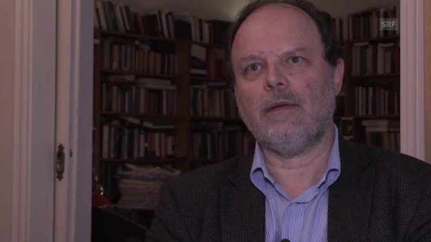 Video «Alexandros Kyrtsis über Theoharis' Arbeit» abspielen