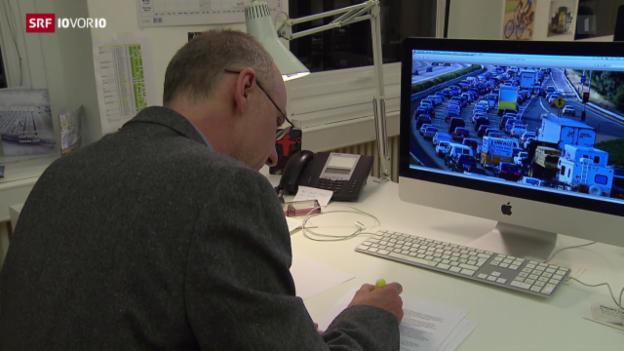 Video «FOKUS: Noch mehr Autos auf den Strassen» abspielen