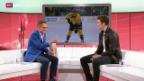Video «Eishockey: Studiogast Roman Josi, Teil 2» abspielen
