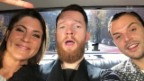 Video «Hurts: In der Limousine mit Annina Frey» abspielen
