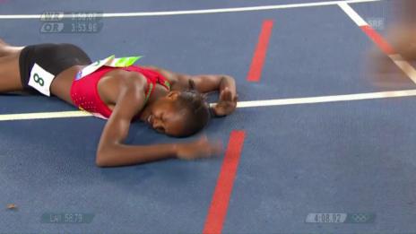 Video «So jubelt Chepngetich Kipyegon über 1500-m-Gold» abspielen