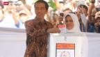 Video «Indonesien hat einen neuen Präsidenten» abspielen