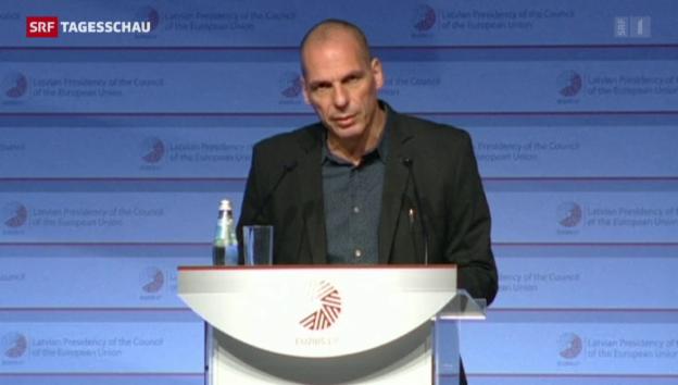 Video «Noch keine Einigung mit Griechenland» abspielen