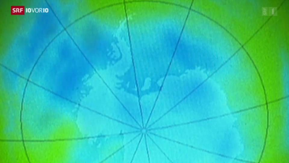 Ozonloch breitet sich nicht weiter aus