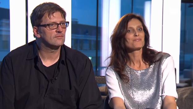 Video «Lucie Schenkel über Martin Schenkels Rolle als Flip» abspielen