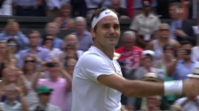 Video «Roger Federer: 19 Matchbälle – 19 Triumphe» abspielen