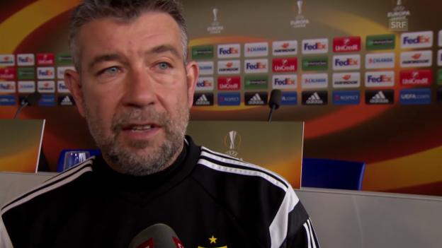 Video «Basel vor dem EL-Rückspiel gegen St-Etienne» abspielen