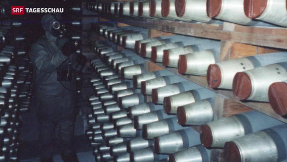 Vernichtung von Chemiewaffen