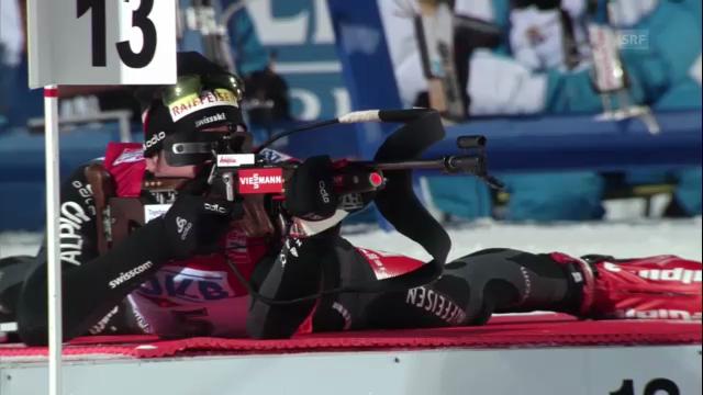 Biathlon-WM: Benjamin Weger