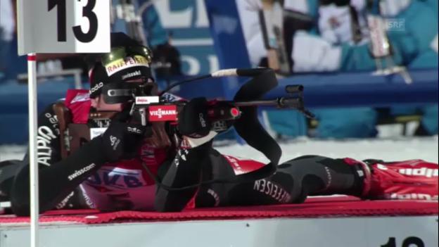 Video «Biathlon-WM: Benjamin Weger» abspielen