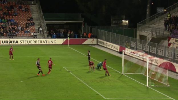 Video «Vaduz erkämpft sich Punkt gegen YB» abspielen
