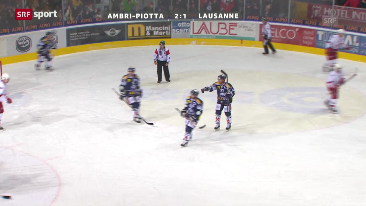 NLA: Ambri - Lausanne
