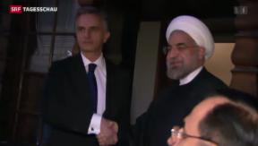 Video «WEF: Iran im Fokus» abspielen