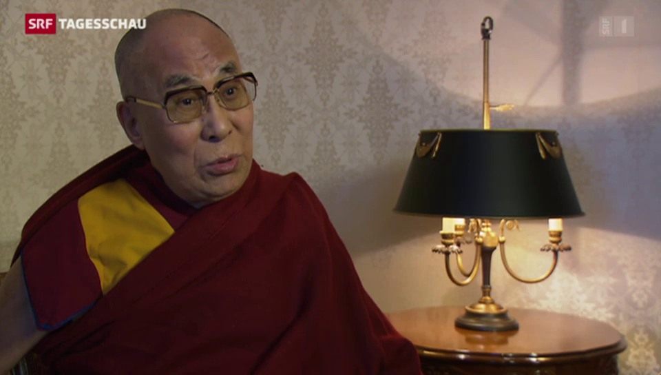Dalai Lama besucht Basel