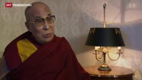 Video «Dalai Lama besucht Basel» abspielen