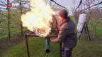 Video «Bauern zittern wegen Frost» abspielen