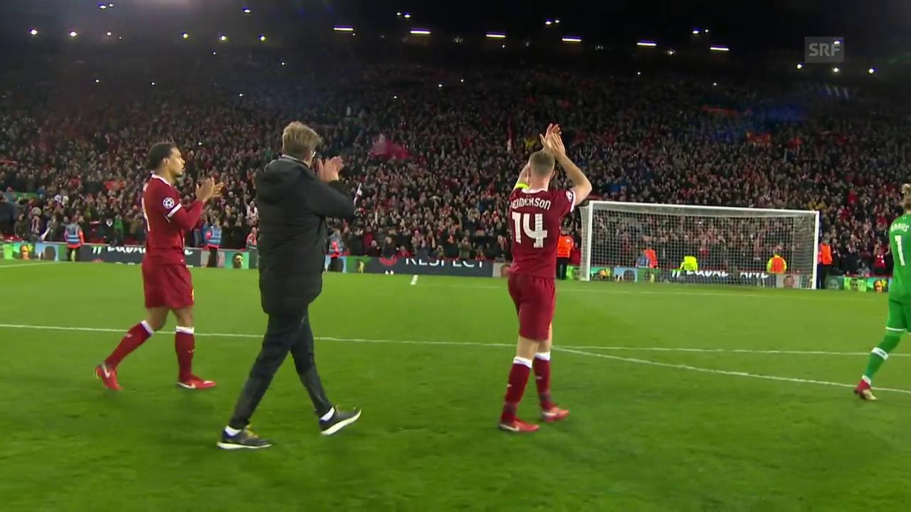 Klare Sache für Liverpool gegen ManCity