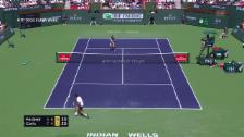 Link öffnet eine Lightbox. Video Federer flinker als der 21-jährige Coric abspielen