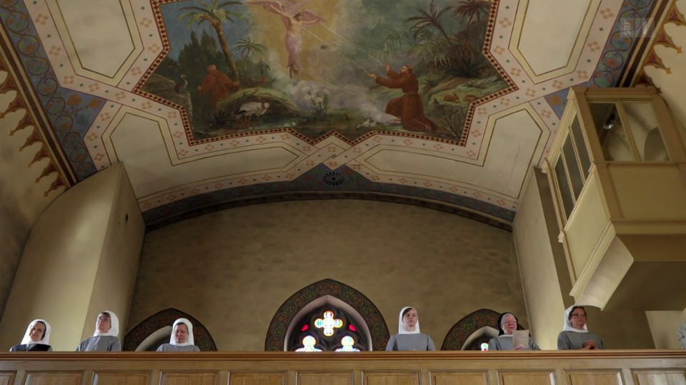 Naturmittel und Fürbitte im Kloster «Leiden Christi» in Jakobsbad