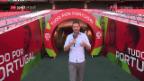 Video «Lukas Studer mit ersten Einschätzungen aus Portugal» abspielen