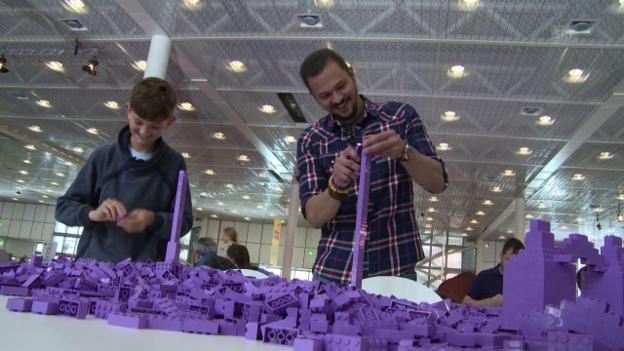 Video «Das grosse Lego-Duell» abspielen
