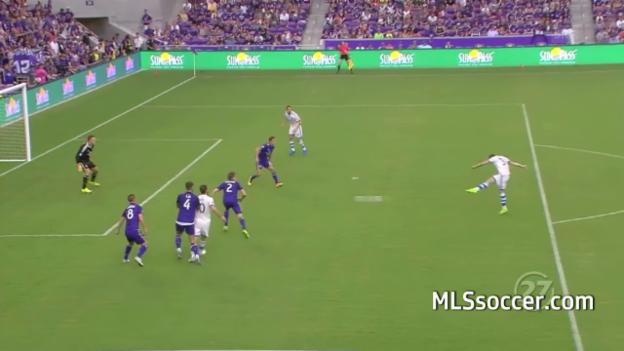 Video «Dzemailis Tor und Assist im Spiel gegen Orlando» abspielen