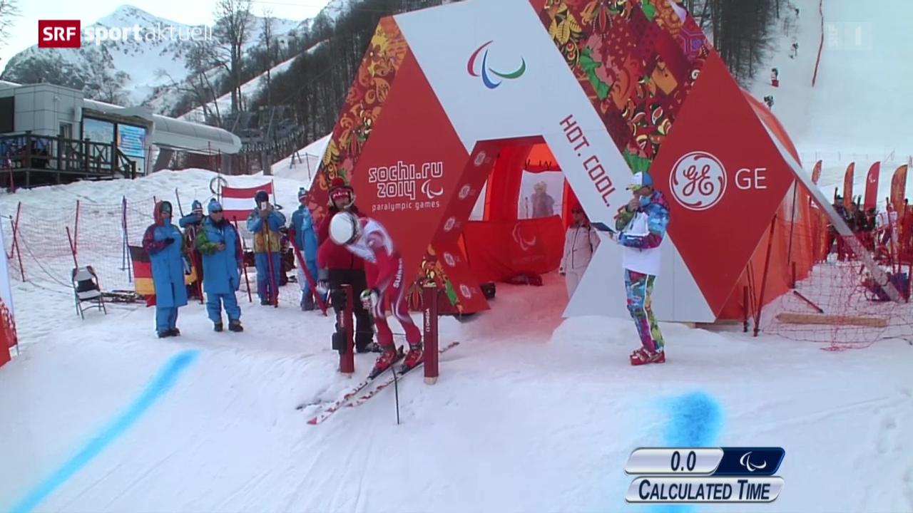 Paralympics: Sotschi 2014, Abfahrt Männer