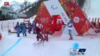 Video «Paralympics: Sotschi 2014, Abfahrt Männer» abspielen