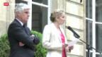 Video «Hollande droht Ärger nach Rauswurf von Umweltministerin» abspielen