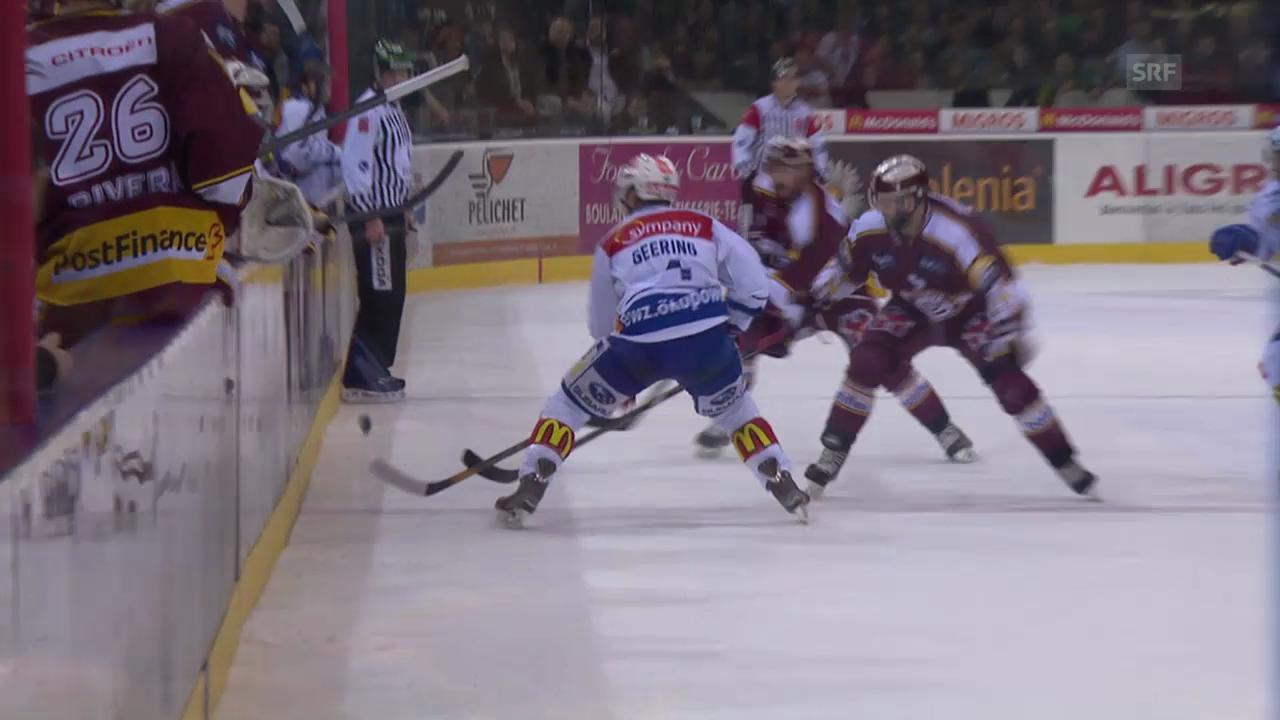 Eishockey: Zusammenfassung Genf - ZSC Lions