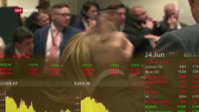 Video «Brexit: Finanzmärkte leiden – auch in der Schweiz» abspielen