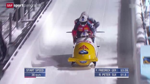 Video «Wintersport kompakt mit Bob, Biathlon und Skifliegen» abspielen