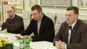 Video «Überraschende Wende in der Ukraine» abspielen
